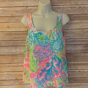 Lilly Pulitzer tank top women's small